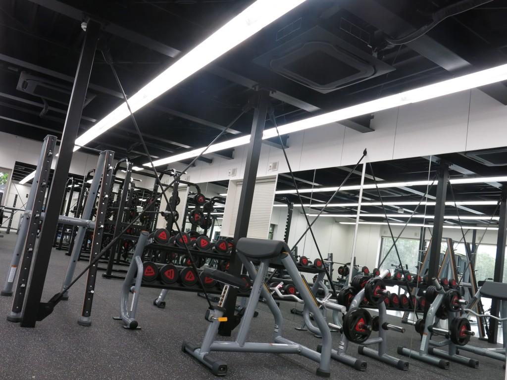 関西福祉大学トレーニングルーム