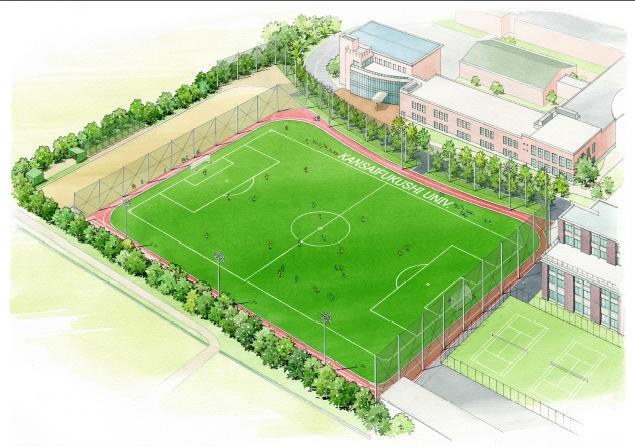関西福祉大学人工芝グラウンド